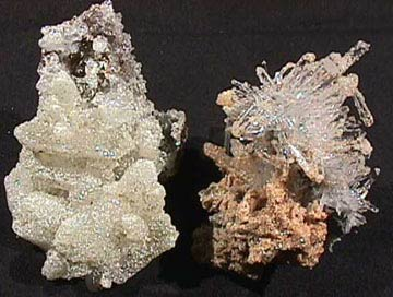 cookeite on quartz
